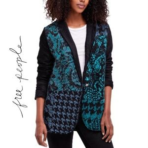 Free People Better Together Blazer/Knit Combo
